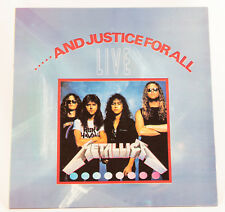 Metallica LP and Justice For All Live Korea 2nd press