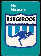 1988 Scanlens Stimorol North Melbourne Logo Club Emblem Football Card 31  ++++