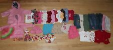 Lot of 40+ Girls Spring Summer Tops Shorts Hoodie Jeans Size 12-18 Gap Gymboree