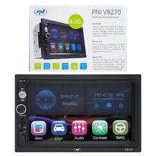PNI V8270 2 DIN-Multimedia-Navigation mit GPS MP5, 7-Zoll-Touchscreen, UKW-Radio