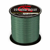 Fishing Line Powerful Braided Wire Strong 20/30/40lb Multifilament Fiber Line US