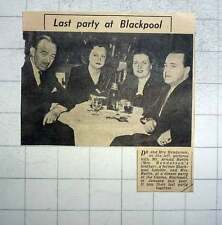 1949 Dr, Mrs Henderson With Mr Mrs Burlin At Casino Blackpool