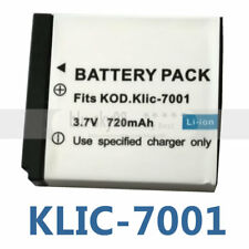 3.7v Battery KLIC-7001 for Kodak EasyShare M320 M340 M341 M763 Digital Camera