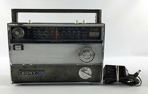 Sony TFM-1000W FM-MW 13 Transistor +1 Solid State Shortwave Radio FM/MW/SW1/SW2