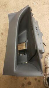 08-15 Fiat 500 Passenger Cubby Glovebox Grey 735446265  scratches