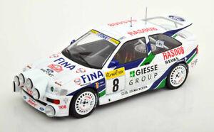 1/18 Ixo 18RMC056B Ford Escort Rs Cosworth #8 Giesse Delecour Monte Carlo 1993