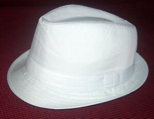 Fedora Kinder Hut Weiß