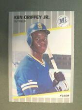 1989  Fleer   Ken Griffey Jr. # 548   Rookie   NM + Ready to Grade