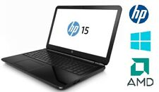 "HP 15 Notebook PC 15.6"" AMD 1.8 GHz 4 GB RAM 500 GB HDD WINDOWS 10 Home"