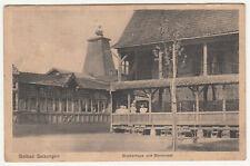 Ak Solbad Salzungen Gradierhaus und Storchnest 1913 !