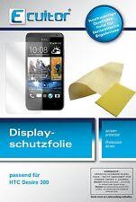 6x HTC Desire 300 Film de protection d'écran protecteur cristal clair