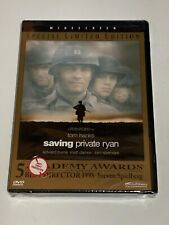 Saving Private Ryan Tom Hanks Dvd New Sealed Special Limited Edition