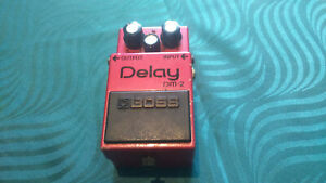 Boss DM-2 Delay Effect Pedal -->Classic analog delay - Vintage 80's<--