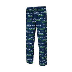 Men's Seattle Seahawks Concepts Sport Royal Zest All Over Print Sleep Pants
