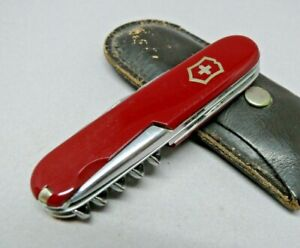 1950's Victorinox / Victoria 84mm Officer Swiss Army Knife