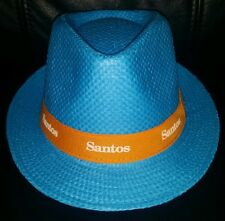 COLLECTABLE SANTOS TOUR DOWN UNDER CYCLING STRAW STYLE HAT BRAND NEW NEVER WORN