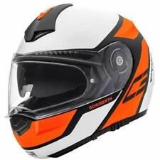Cascos modulares color principal naranja para conductores