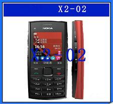 Original Cheap Nokia X2-02 Dual Sim FM Radio Bluetooth MP3 2MP Camera CellPhone