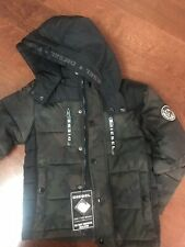 DIESEL Down Boys Jacket Size 5/6 Military(very warm)