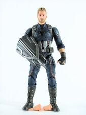 Marvel Legends Avengers Infinity War Captain America Loose (No Thanos Piece)