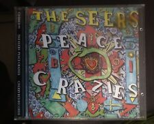 The Seers – Peace Crazies cd 1992 Cherry Red NM
