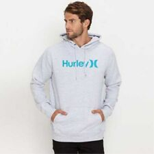 **Hurley**Mens**One And Only Fleece Pullover Hoodie Hooded Jumper Tops Size S