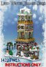Lego Winter Village Christmas Countdown Tower -INSTRUCTIONS ONLY- fit 10263 etc