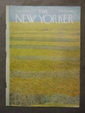 Vintage New Yorker Magazine (COVER ONLY) September 16 1967  Ilonka Karasz art