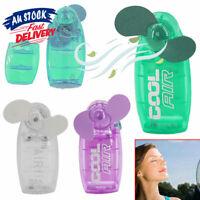 Mini  Fan Pocket   Battery  Blower  Travel   Cool Air   Cooler Hand Held
