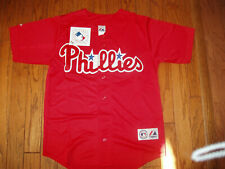 Philadelphia Phillies  Alternate Red Jersey w/Tags  Size XL (Adult)