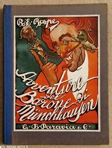 R. E. Raspe. Le Avventure del Barone di Munchhausen. ed. Paravia, 1934