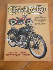 CLASSIC BIKE  #5 SPRING 79 PUCH SPLIT SINGLES MOTOSACOCHE V TWIN HARLEY VELO KTT