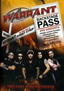 Warrant - They Came From Hollywood [New DVD] Widescreen