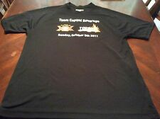 Sport Tek Dry Weave Shirt Dos Equis and Tough Mudder 2011 New Old Stock
