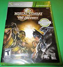 Mortal Kombat Vs DC Universe - Xbox 360 - Factory Sealed!! -  Free Shipping!!