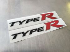 2 PCS Honda Type R Side Decal New OE Style JDM FK8 2017 2018 Civic 2015 EK9 EP3