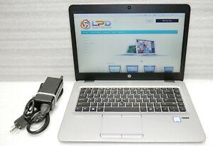 HP EliteBook 840 G3 Intel 6th gen Core i5 2.4GHz 256gb SSD 8GB webcam Windows 10