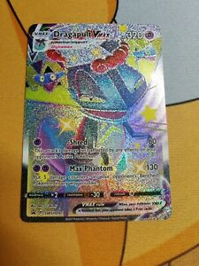 Dragapult VMAX Shiny | MINT | Black Star Promo SWSH097 | Pokemon