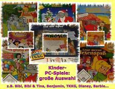 Computerspiele CD-Roms PC-Spiele Kinder Klassik Games Beschreibung siehe Bilder