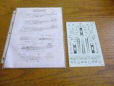 Super Scale Decals #72-532 EA-6B PROWLERS Lo Viz VAQ-132 135 137 1:72 - RARE!