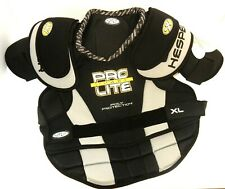 Hespeler F3 Series Black Ice Hockey Shoulder Pads 5500 Pro Lite - Size: Xl