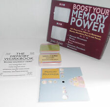 BOOST YOUR MEMORY POWER w 100 Cards & Memory Maximizer Wheel Unused