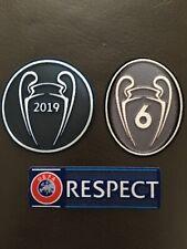 Liverpool Champions League Badge Patch Set 2019/20.