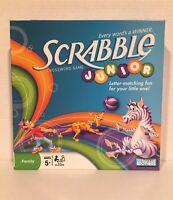 Scrabble Junior Crossword Board Game Parker Brothers Hasbro Family Fun Night