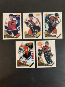 1995/96 Pinnacle Summit Philadelphia Flyers Team Set 5 Cards