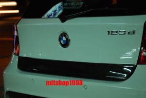 BMW E87 1 SERIES CARBON  FIBER REAR TRUNK FINISHER