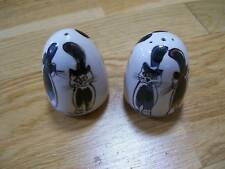 More details for cat decorated salt and pepper ( paw mark )
