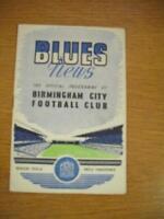 02/04/1956 Birmingham City v West Bromwich Albion  (Hea