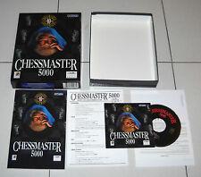 Gioco Pc Cd CHESSMASTER 5000 10th Anniversary OTTIMO 1996 Scacchi