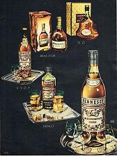 PUBLICITE ADVERTISING 024   1955   HENESSY   cognac